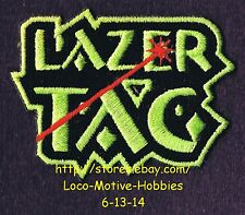 LMH PATCH Badge  LAZER TAG PAINT BALL Kid's Camp Paintball Laser Activity Award