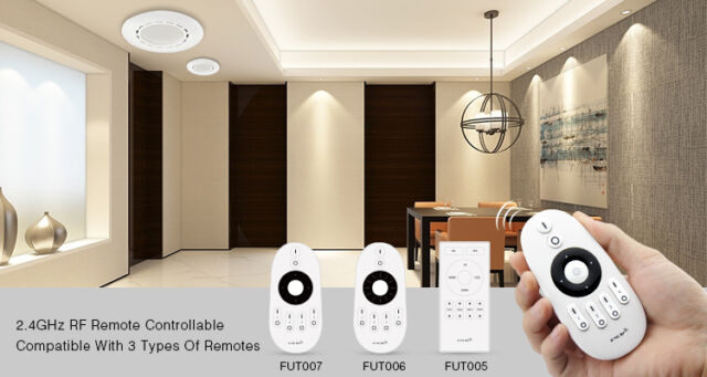FUT061 MiLight 12W Dual White LED Downlight 2.4GHz WiFi Remote Controllable
