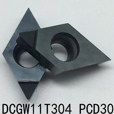 2P DCGW070208 PCD30 Used for Aluminum and copper Polycrystalline diamond tools
