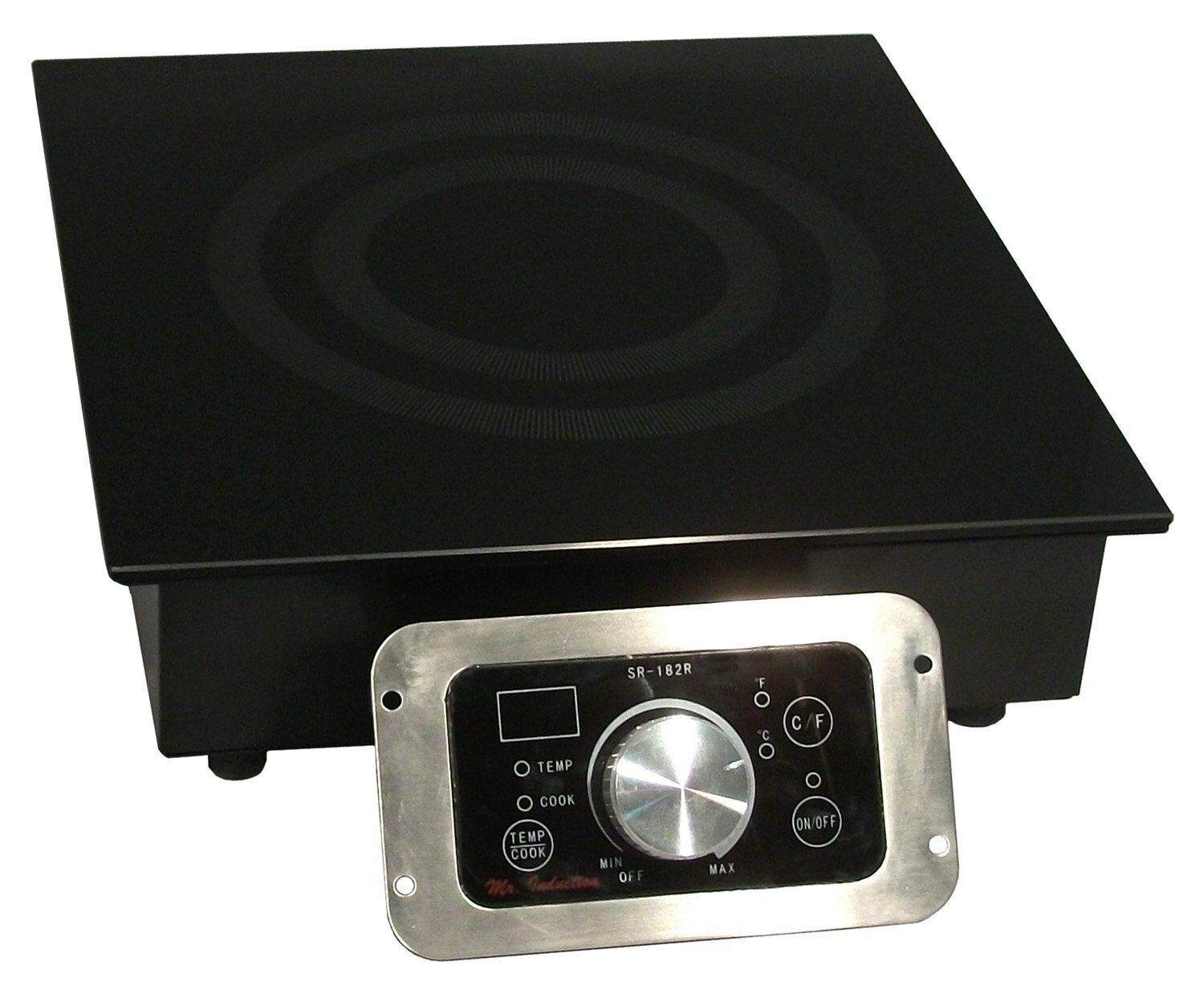 3400 Watt Commercial Built-in Induction Cooktop Range Restaurant Cook Top 240v