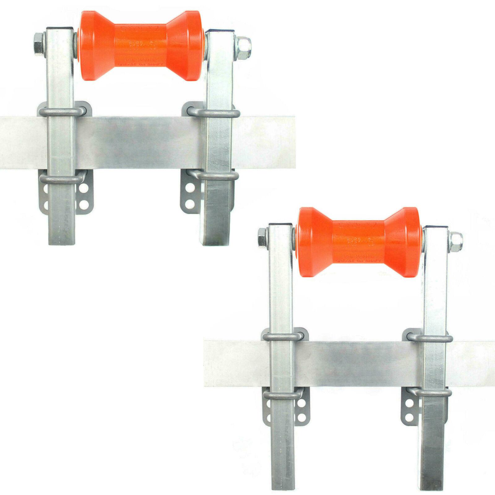 ⚓ Kielrolle mit Halter / Stoltz RP-5  ➔ stufenlos  | Kielrolle Polyurethan PU
