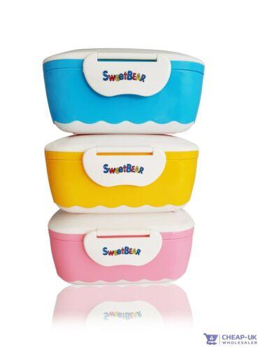10 Pots Bébé aliment de Sevrage pots congélateur de conservation Lunch Box Container BPA Free
