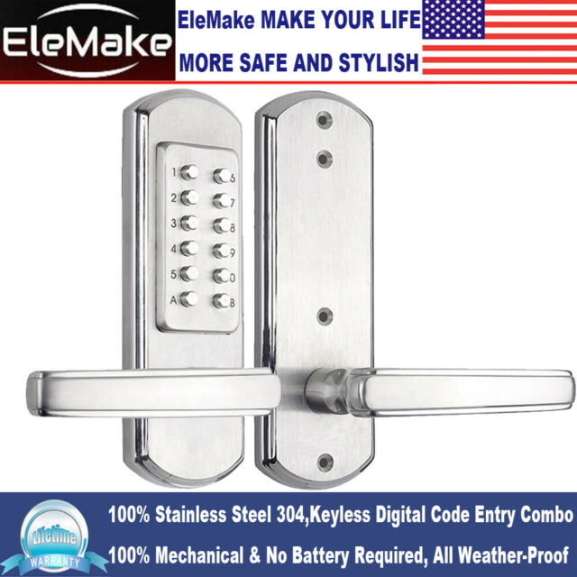 New Combination Mechanical Door Lock Keyless Entry High Quality Digital Code 304