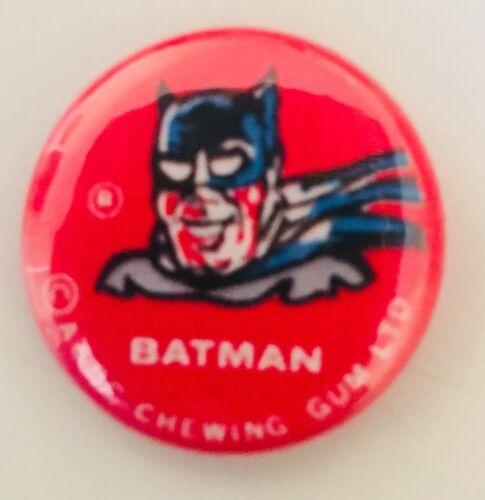 "Batman Robin Joker Pin-back Buttons 1"" ABC Chewing Gum Vintage Like Batman 74"