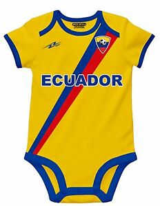 2b5ab6d9412 Ecuador Soccer Baby Outfit Mameluco New W O Tag Sizes 3 to 12 Months ...