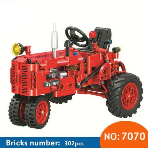 Winner 302pcs Classic Old Tractor building block Educational Brick Kids Toys