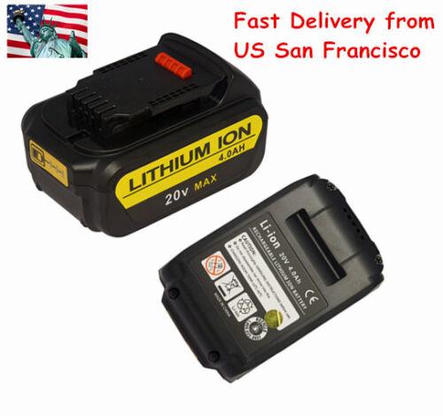 New 20v 20 Volt 4.0Ah MAX Premium Lithium Li-Ion Battery Pack For DCB204