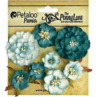 Petaloo P1836-061 Penny Lane Mixed Blossoms 8-pkg-teal