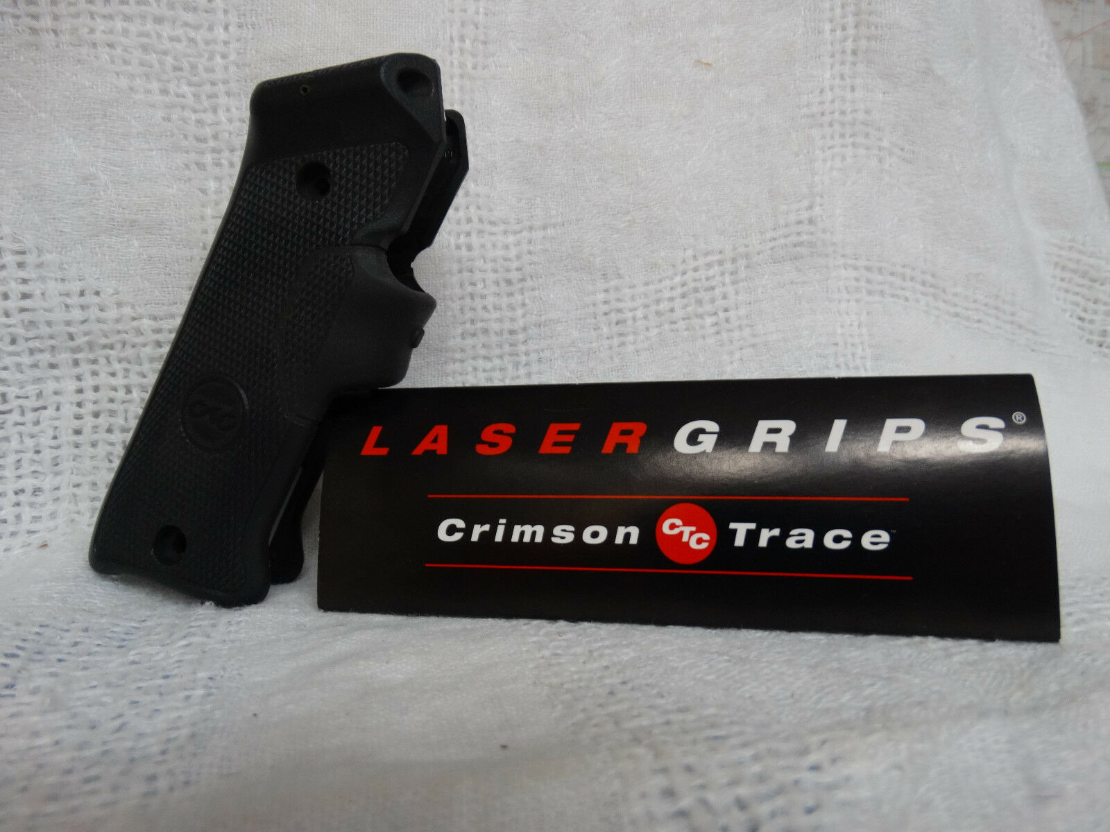 Crimson Trace Laser Grip LG403 Ruger Mark II and III