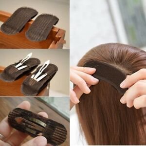 2x-Bump-it-Up-Volume-Hair-Insert-Clip-Back-Beehive-Marking-style-Tool-Holder-U-S