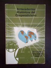Antecedentes Historicos del Cooperativismo - Hector Mendoza Antonsanti - 1986