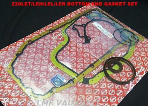 Vauxhall Astra Zafira Gsi Sri Turbo Z20LET Bottom End Jeu Joints D/'étanchéité ELRING 93172425