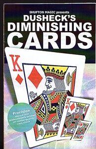 DUSHECK-039-S-DIMINISHING-CARDS-BRAND-NEW-UNSEALED-FREE-POST