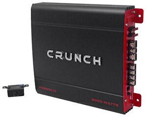 Crunch-PX-2000-1D-2000-Watt-Mono-Powerful-Car-Audio-Amplifier-Amp-PX2000-1D