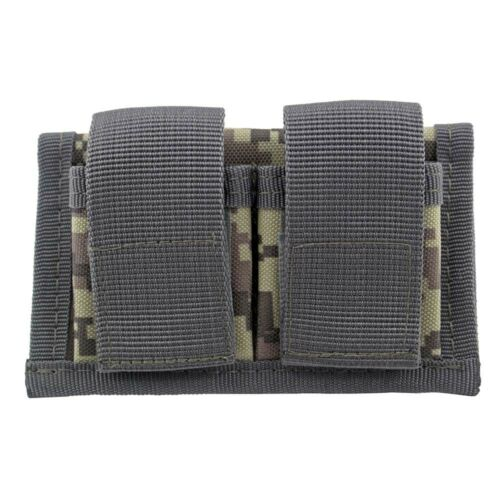 Tactical Revolver Double Speed Loader Magazine Pouch Fits 22 Mag Thru 44 Mag