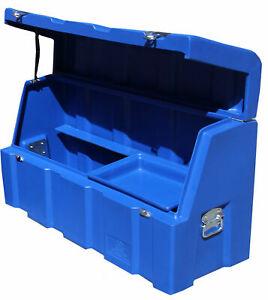 Poly-Tool-Box-Trailer-Tool-Box-Tradesmans-Tool-Box-Ute-Tool-Box-Tough-Blue