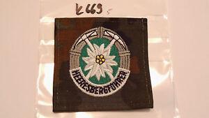 Bundeswehr-Abzeichen-Heeresbergfuehrer-auf-Tarn-1Stueck-k669