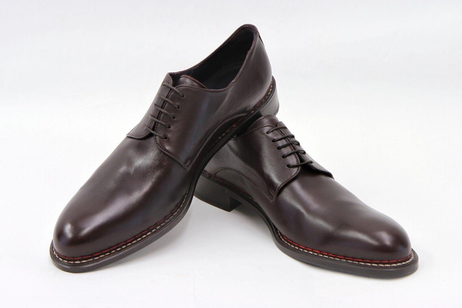 vendita calda NWOB ISAIA NAPOLI Uomo 100% LEATHER LACE-UP DERBY DERBY DERBY DRESS scarpe Dimensione 10  11.5US  più economico