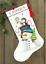 Dimensiones-Oro-contado-Cross-Stitch-Kit-Navidad-Stocking-Santa-Muneco-de-nieve miniatura 10