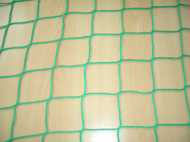 Fußballtornetz, Fußballnetz, Tornetz Fußballtor 7,32x2,44m (200/200), 3 mm, grün