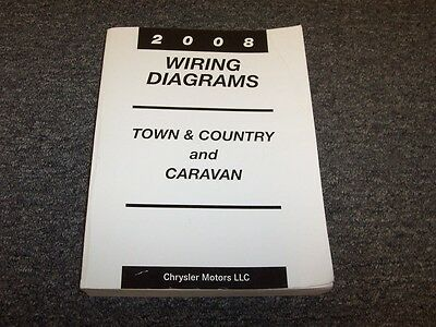 2008 Chrysler Town & Country Dodge Caravan Van Electrical ...