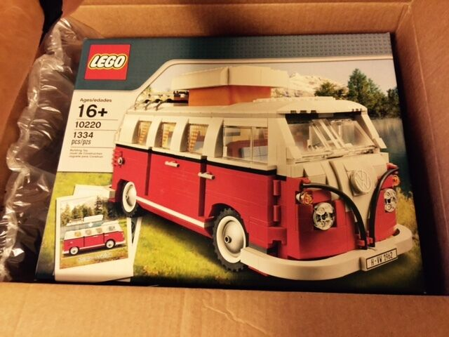 lego volkswagen t1 camper van set 10220 vw creator bus ebay. Black Bedroom Furniture Sets. Home Design Ideas