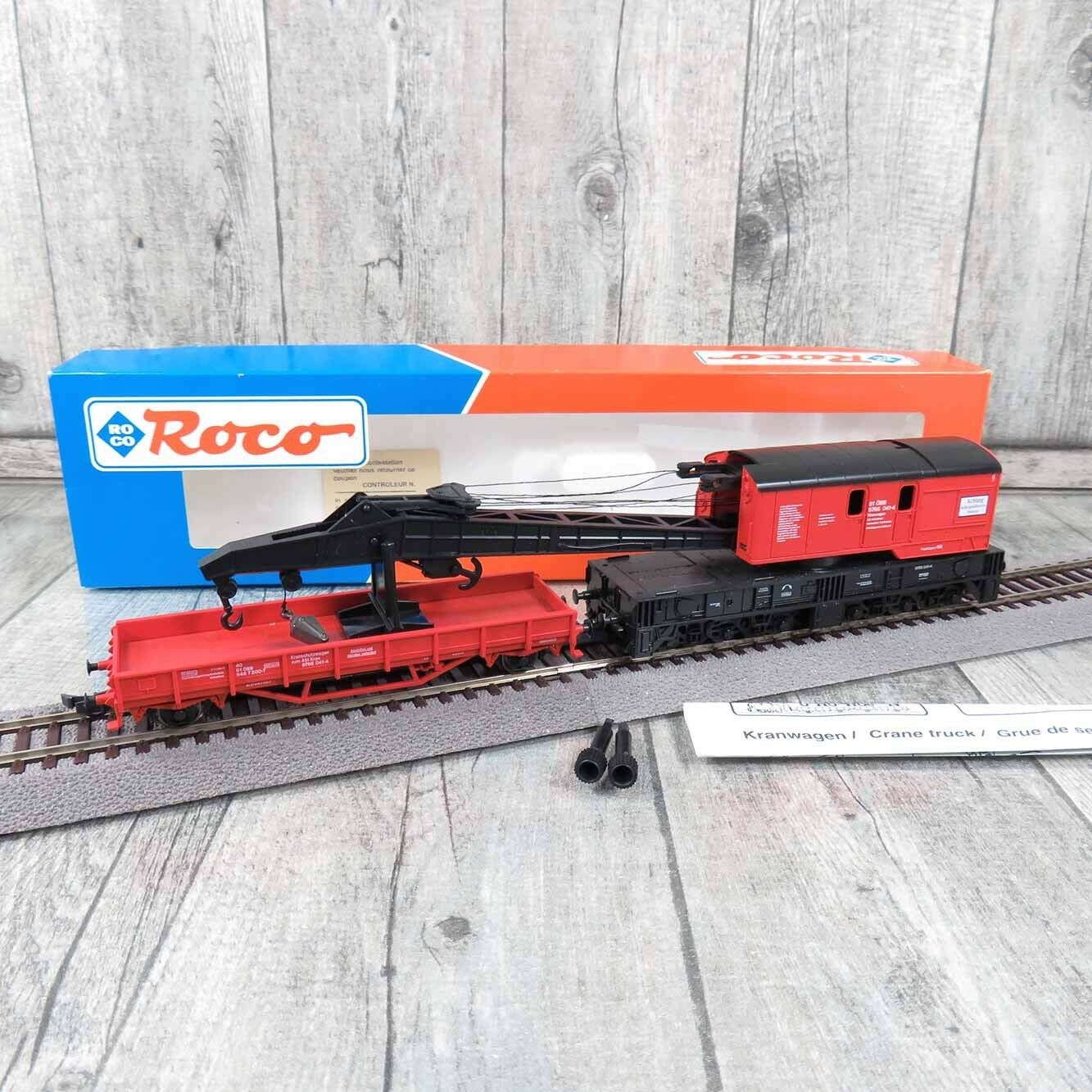 acquistare ora ROCO 47331 - H0 - ÖBB - - - Kranwagen 9766 041-4- OVP -  U18927  ordina ora i prezzi più bassi