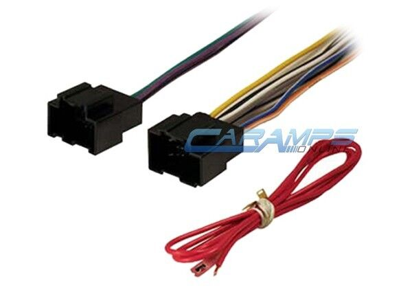 gwh406 american international wiring harness plugs into factory harness  factory radio car stereo cd player