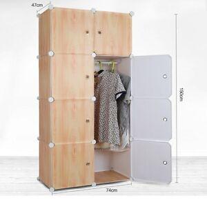 Tri- Plastic Wardrobe Cupboard Almirah -Lkl-36- Wc- Crm