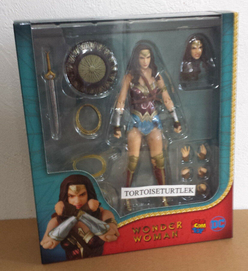 Mafex dc comics wonder woman wonder woman action - figur