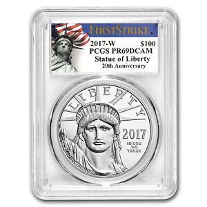 2017-W 1 oz Proof Platinum Eagle PR-69 PCGS (FS, Liberty Label) - SKU#153663