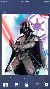 Topps-Star-Wars-Digital-Card-Trader-Colour-Watercolour-Darth-Vader-Insert