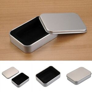 New-Hot-Metal-Lighter-Box-Storage-Cigarette-Lighter-Collectable-Case-For-Zippo
