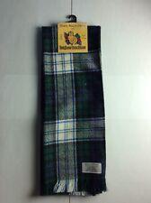 -Black Watch Dress- Ingles Buchan Scottish Tartan Scarf- 100% Pure New Wool