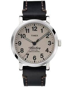 0b5a9889f Image is loading Timex-TW2P58800ZA-40mm-Stainless-Steel-Waterbury-Men-039-