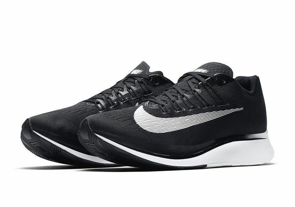 Men's Nike Zoom Fly Black / White / Anthracite Running Shoes Sz 9 880848 001