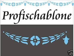 Schablone-Dekorschablone-Wandschablone-Stupfschablone-Stencils-Kordelblueten