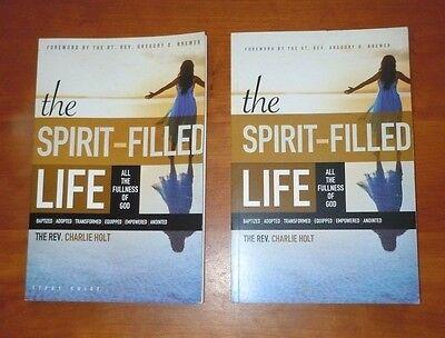 2Bks The Spirit Filled Life Charlie Holt & Study Guide Christian Devotional NEW