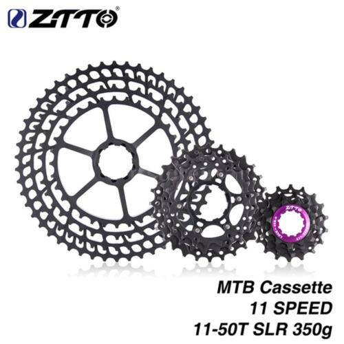 Ultralight CNC Freewheel MTB 11 Speed Cassette 11-50T Wide Ratio Bike Parts L1C4