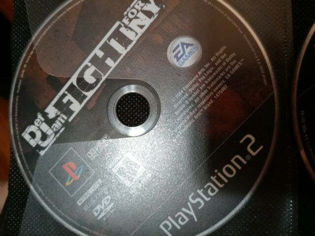 Def Jam: Fight for NY (PlayStation 2, 2004) disc only tested working
