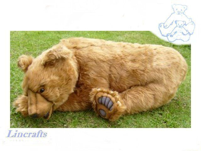 Hansa golden Brown Bear 4741 Plush Soft Toy Sold by Lincrafts Established 1993