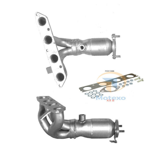 BM91108 Exhaust Petrol Catalytic Converter +Fitting Kit +2yr Warranty