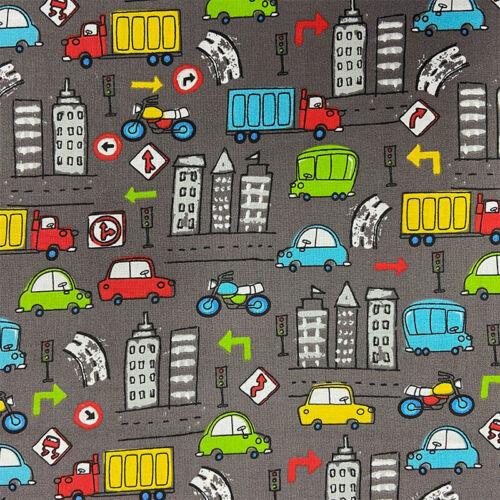 Paleta de tela ocupado carreteras Carbón Por Metro 1//4