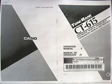 Casio ct-470 manual.