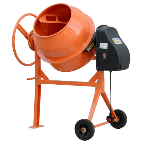 140 L Electric Mobile Cement Mixer Drum For Concrete Plaster Grouting Machine