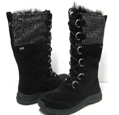 620e4e7e37e UGG ATLASON FRILL WOMEN BOOTS BLACK US 7.5 /UK 6 /EU 38.5 /JP 24.5 | eBay