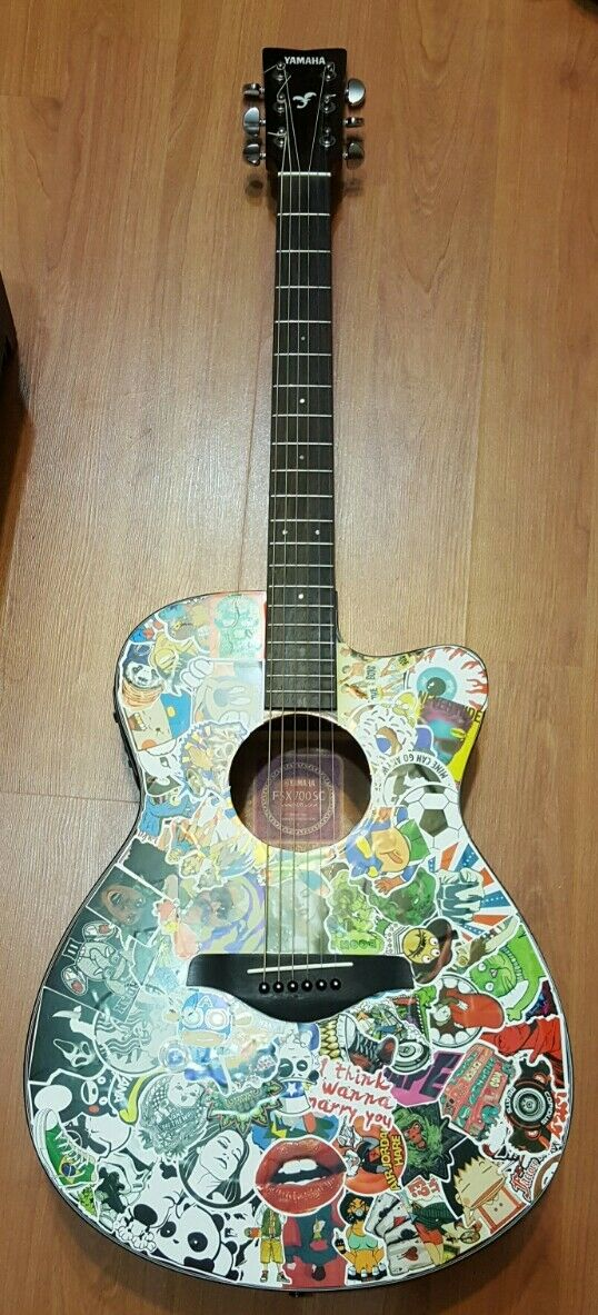 Guitar YAMAHA FSX700SC as is cool looking looking looking 85c18f