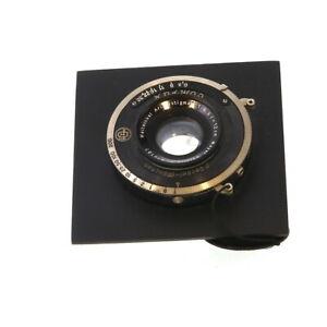 Vintage-Meyer-Gorlitz-12cm-120mm-f-6-3-Aristostigmat-Lens-in-Dompur-Shutter-UG