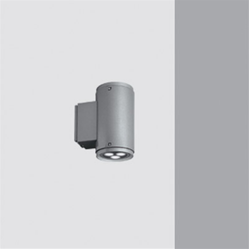 Iguzzini Iroll 65 Grau Mikro Wand Bidirektionale 6 LED 1W 4000°K IP65 3.BA94
