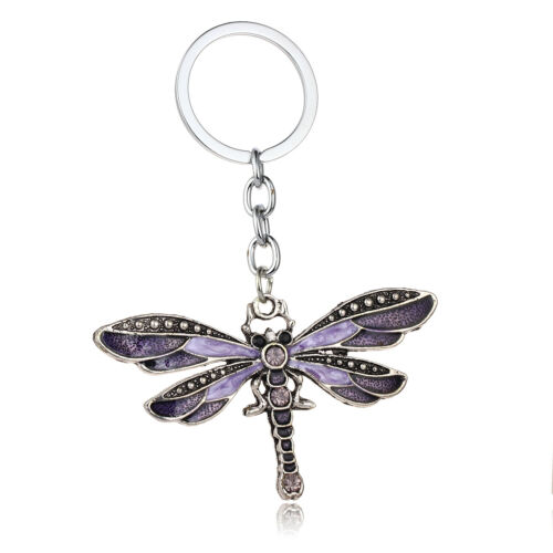 Dragonfly Butterfly Pendant Necklace For Women Girls Charm Christmas Gift Xmas